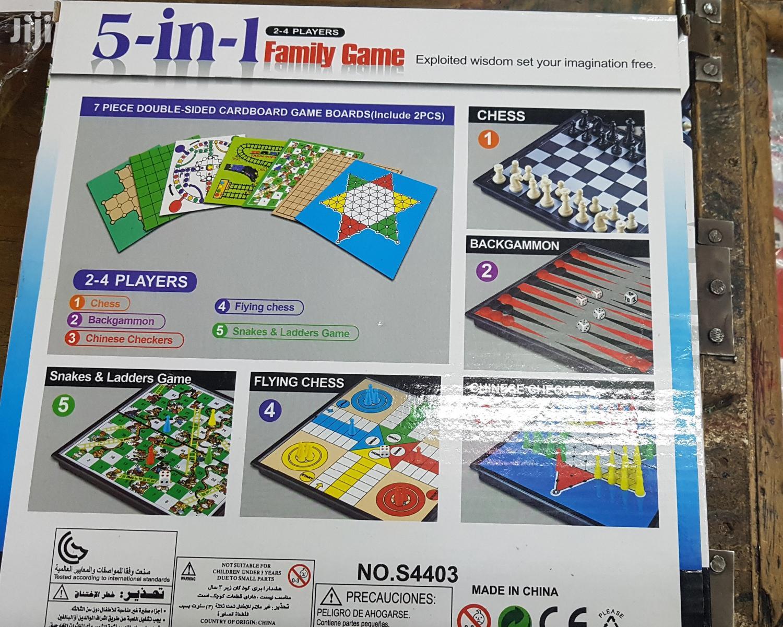 5 In 1 Family Game | Books & Games for sale in Nairobi Central, Nairobi, Kenya