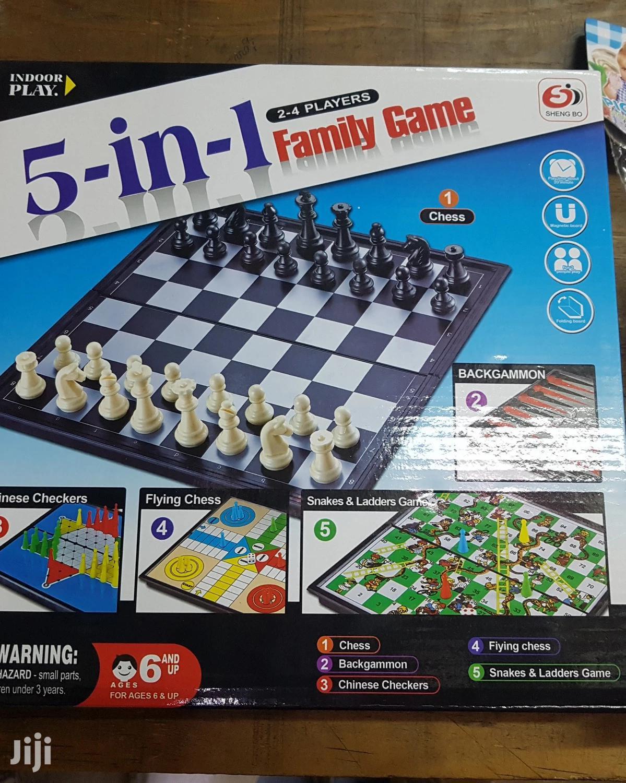 5 In 1 Family Game