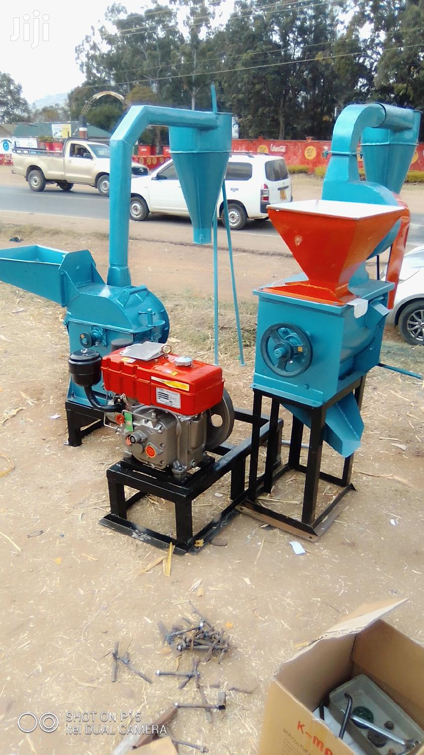 Posho Mills Combined With Maize Huller