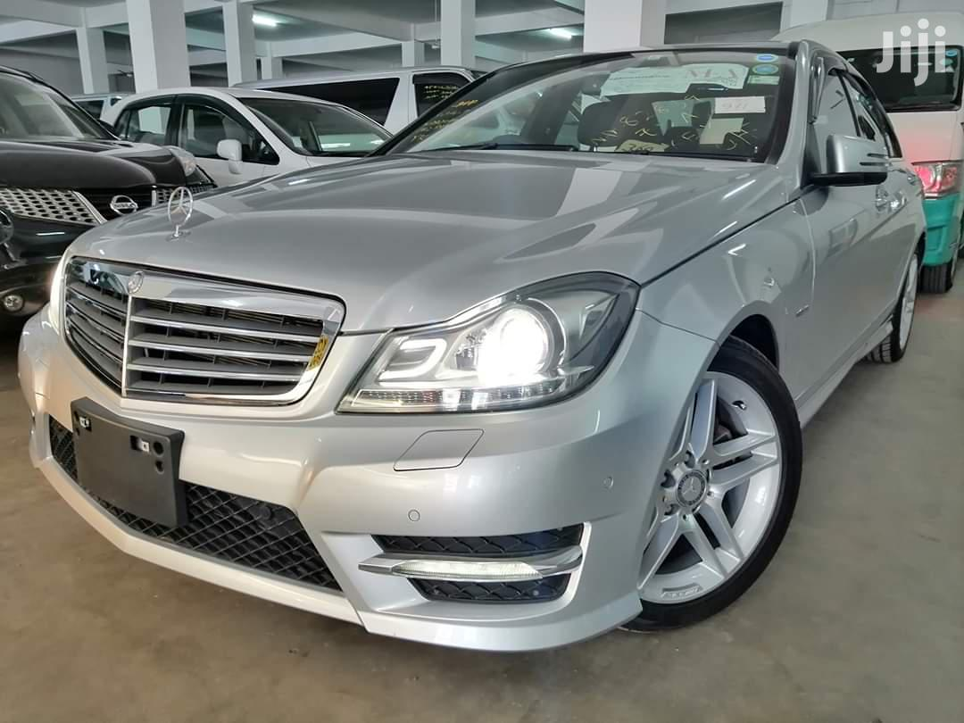 Mercedes-Benz C200 2013 Silver | Cars for sale in Shimanzi/Ganjoni, Mombasa, Kenya