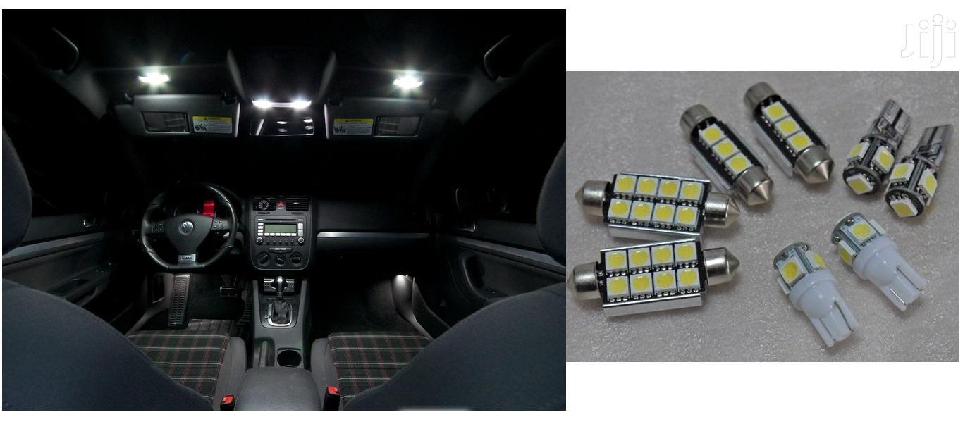 Bright LED Interior White Bulbs: For Toyota,Subaru,Landrover