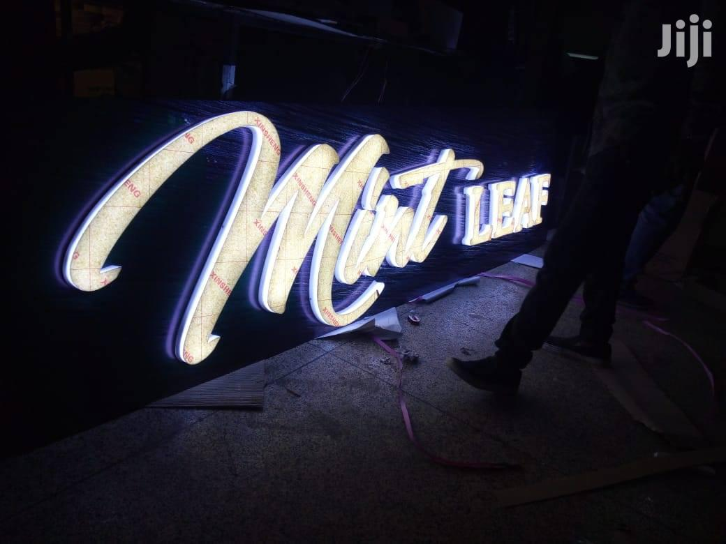 3D Signs And Signages   Manufacturing Services for sale in Nairobi Central, Nairobi, Kenya