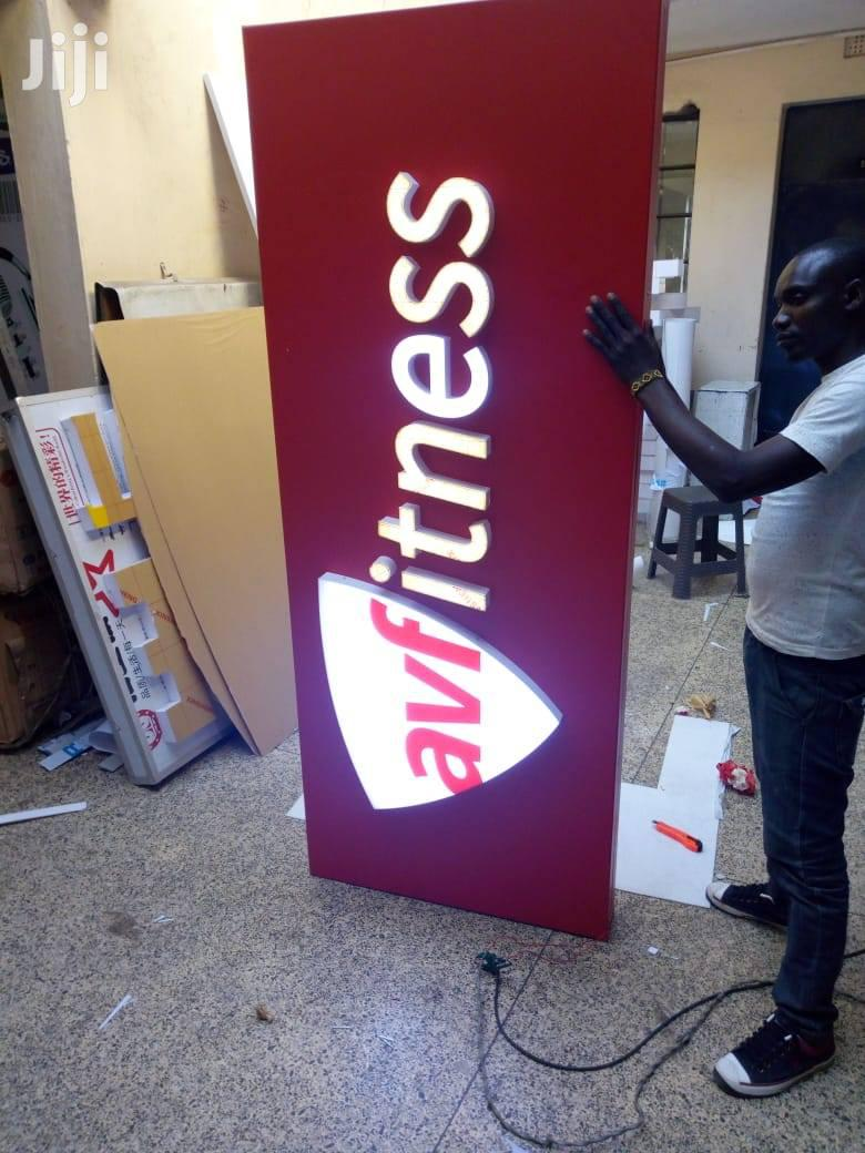 3D Signs And Signages