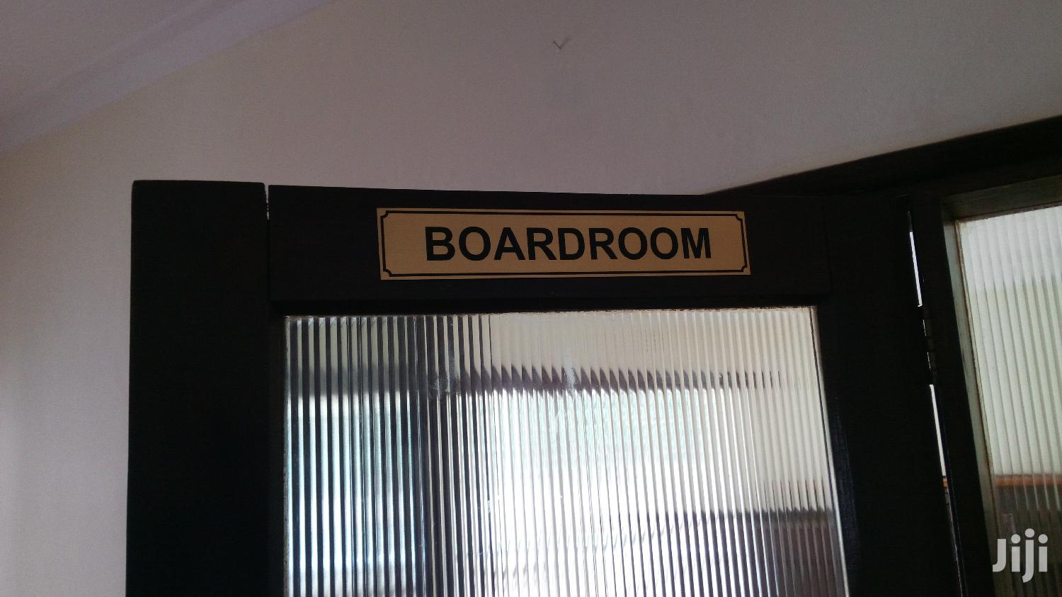 Office Door Signs   Manufacturing Services for sale in Nairobi Central, Nairobi, Kenya