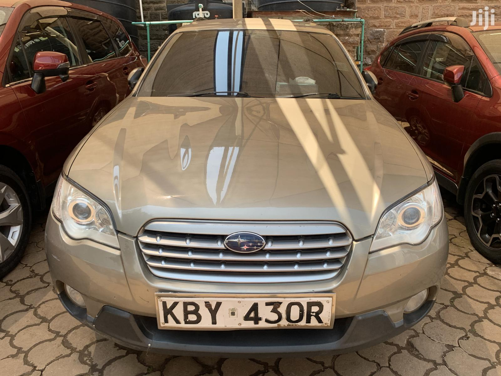Archive: Subaru Outback 2007 Gold