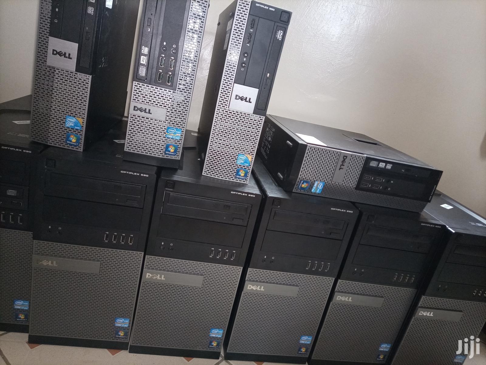 Desktop Computer Dell 4GB Intel Core i7 HDD 500GB