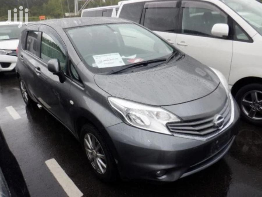 Nissan Note 2012 Gray