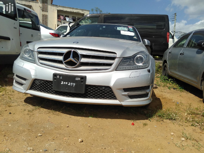 Mercedes-Benz C200 2013 Silver | Cars for sale in Shimanzi/Ganjoni, Mombasa, Kenya