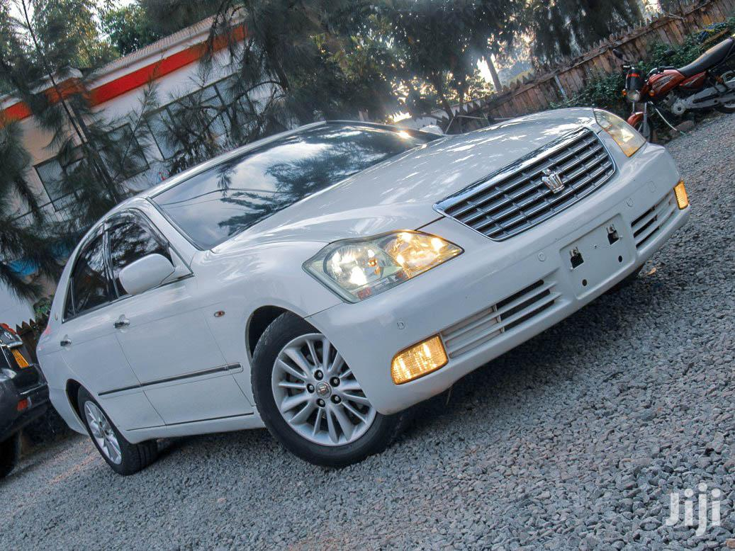 Toyota Crown 2008 White