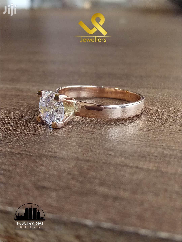 Genuine 9kt Yellow Gold Hand Made Ladies Engagement Ring | Wedding Wear & Accessories for sale in Nairobi Central, Nairobi, Kenya