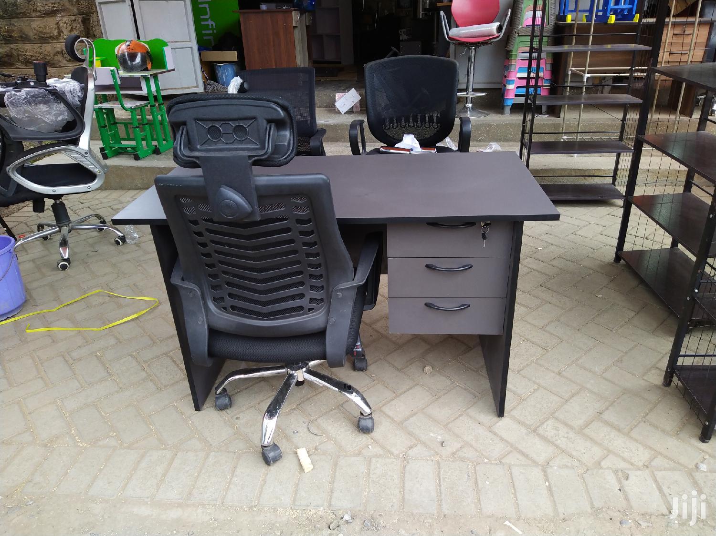 1.2 Metre Desk Plus Headrest Chair