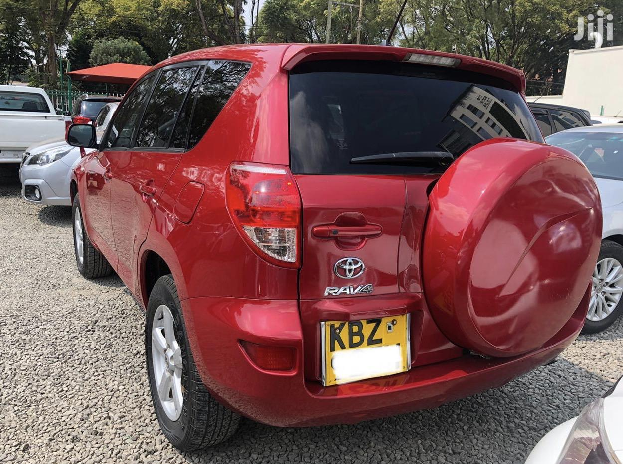Archive: Toyota RAV4 2008 200 4X4 Automatic Red