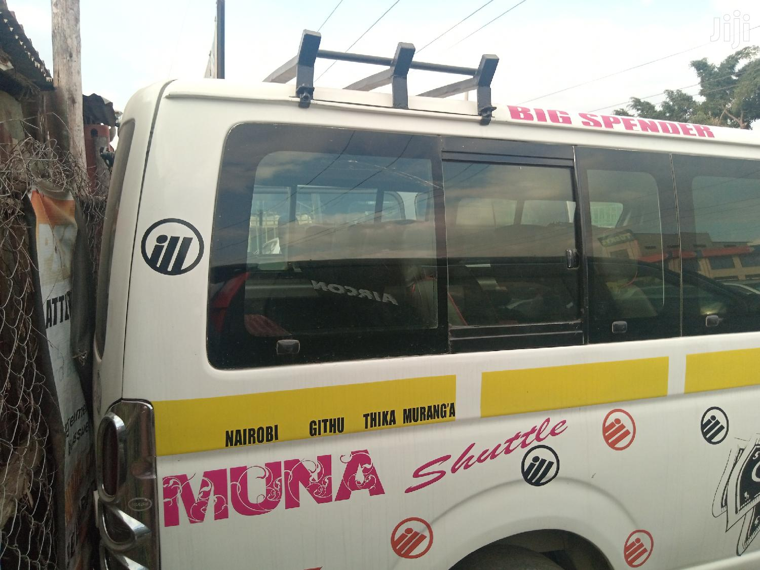 Toyota Hiace 2007 White For Sale | Buses & Microbuses for sale in Komarock, Nairobi, Kenya
