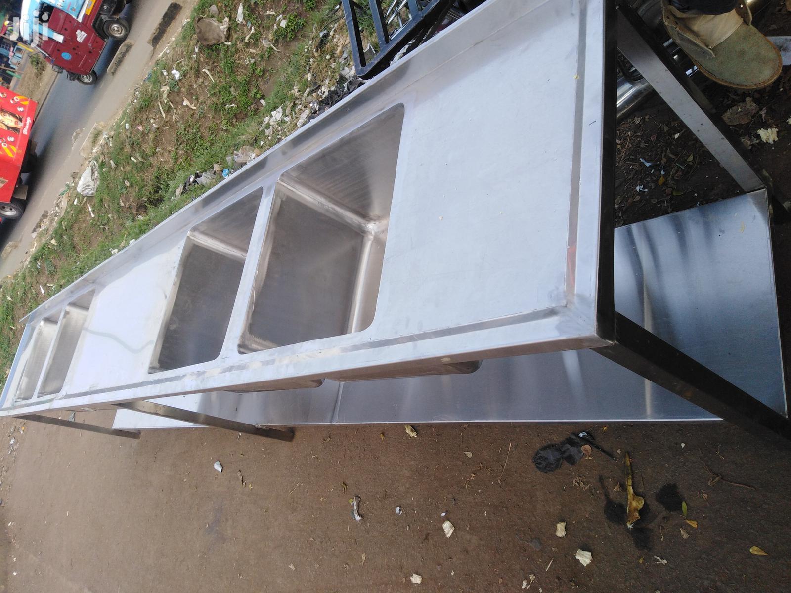 Commercial Stainless Steel Kitchen Sinks Heavy-duty | Restaurant & Catering Equipment for sale in Nairobi Central, Nairobi, Kenya
