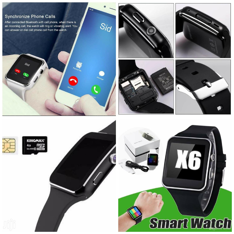 X6 Bluetooth Sport Smartwatch With Camera