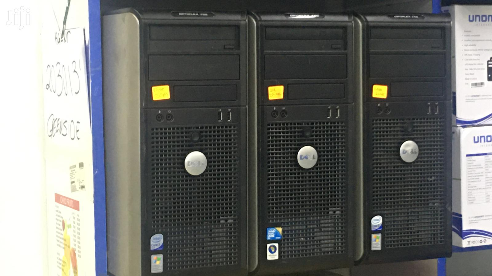 Desktop Computer Dell 2GB Intel Core 2 Duo 250GB   Laptops & Computers for sale in Nairobi Central, Nairobi, Kenya