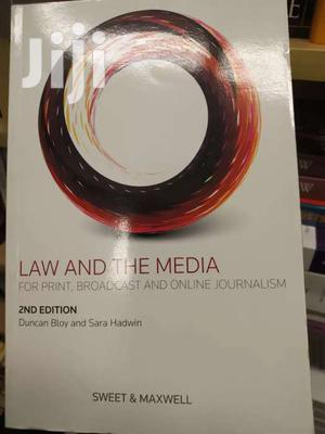 Law And The Media -sweet And Maxwell | Books & Games for sale in Nairobi, Nairobi Central