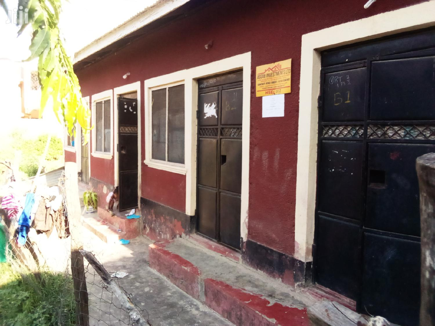 A Four Bedsitter House For Sell In Fisheries Bamburi Area