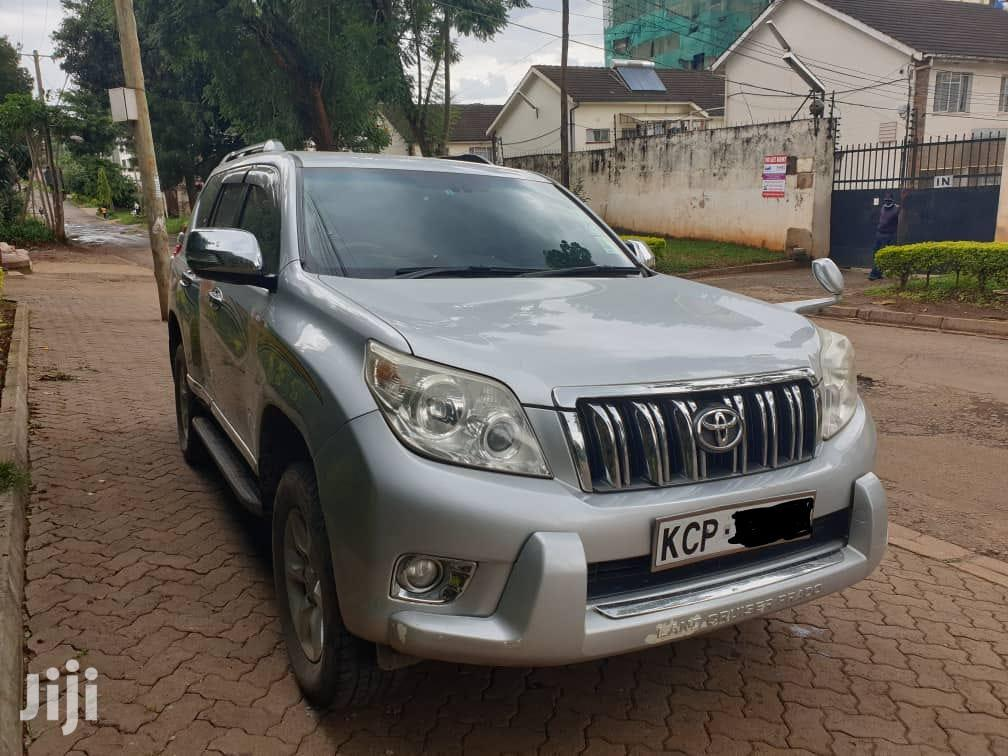 Toyota Land Cruiser Prado 2012 Silver | Cars for sale in Kilimani, Nairobi, Kenya