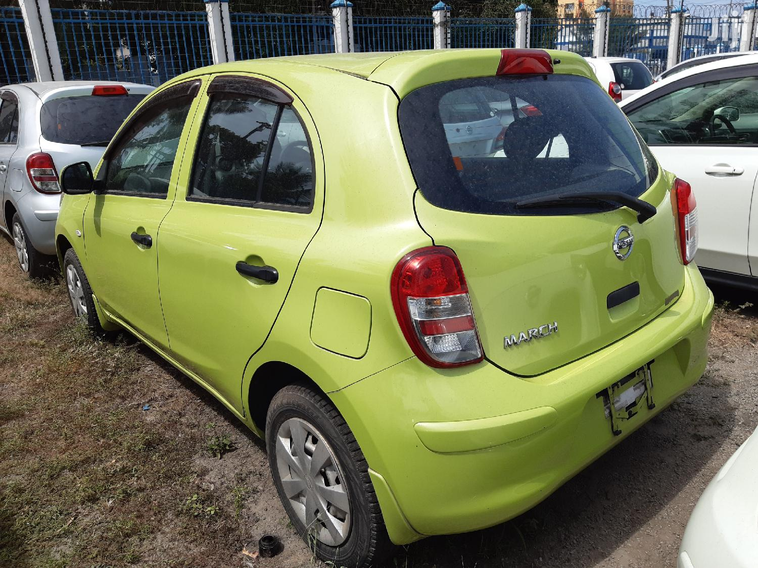 Archive: Nissan March 2013 Green