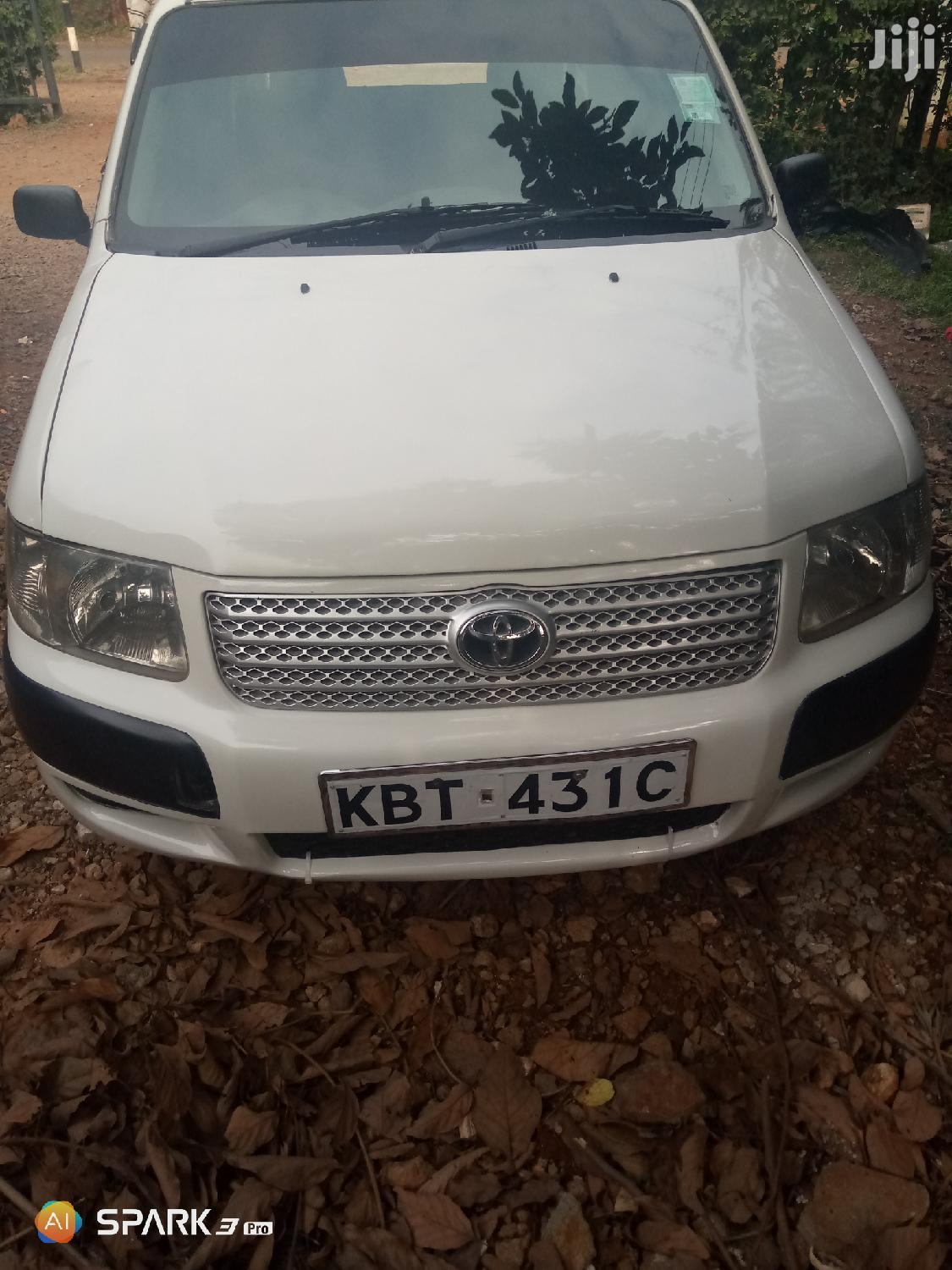 Toyota Succeed 2007 White