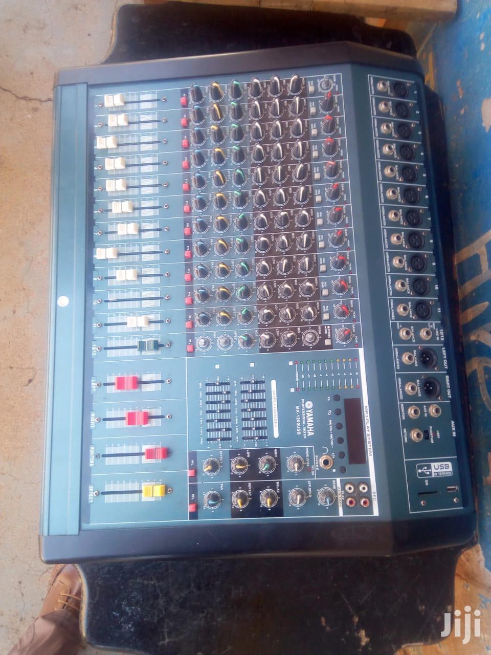 Powered Yamaha Mixer