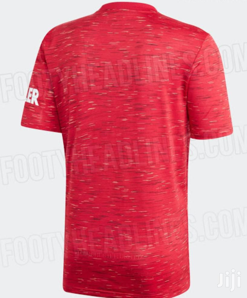 Manchester United Man U JERSEY Home 2020/21 | Clothing for sale in Nairobi Central, Nairobi, Kenya
