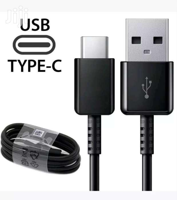 Original Samsung Car Fast Charger USB-C Cable For S8 S9 Note 8 Note 9 | Vehicle Parts & Accessories for sale in Nairobi Central, Nairobi, Kenya