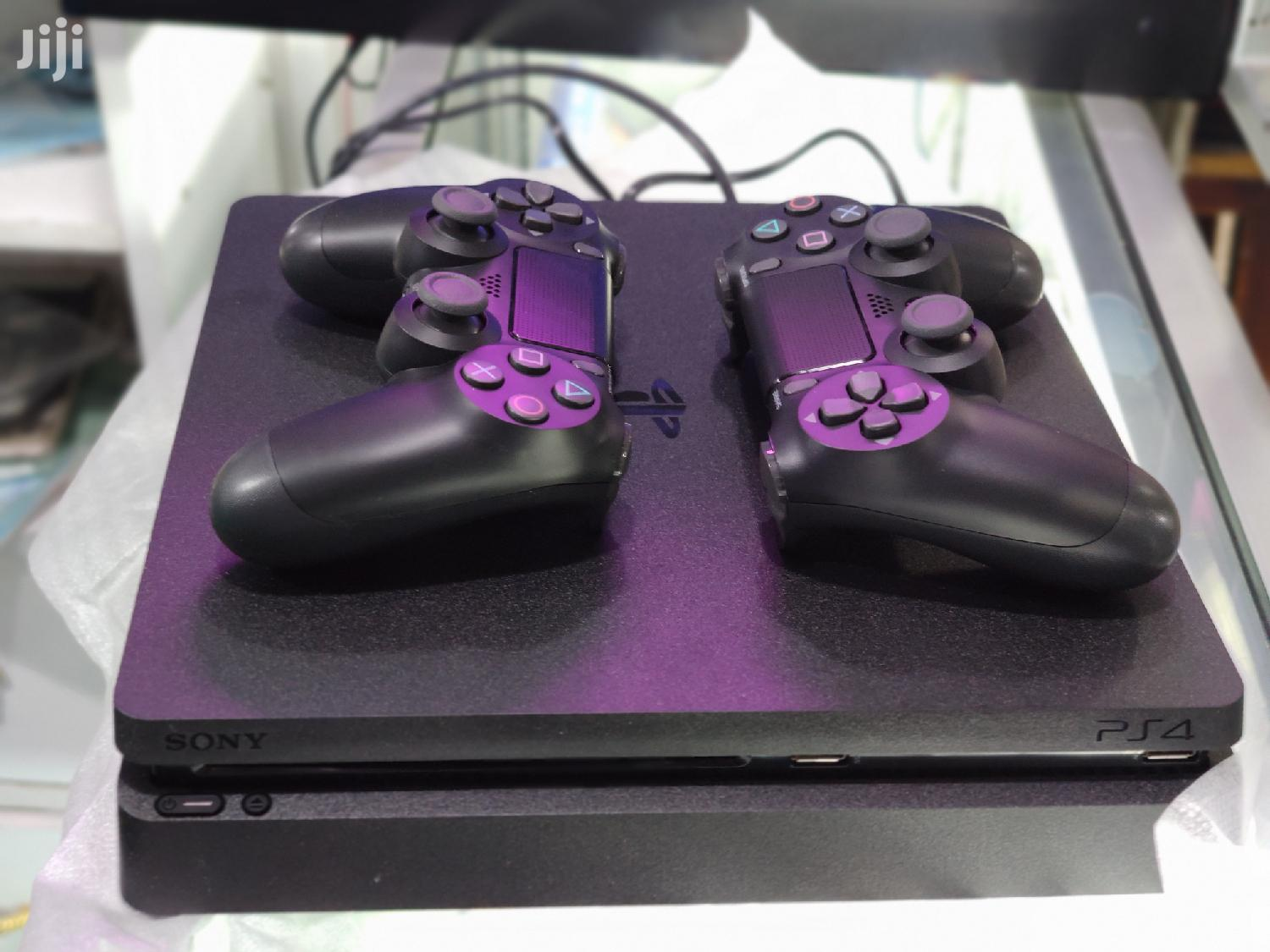 Archive: Slightly Used Ps4 With Two Controllers