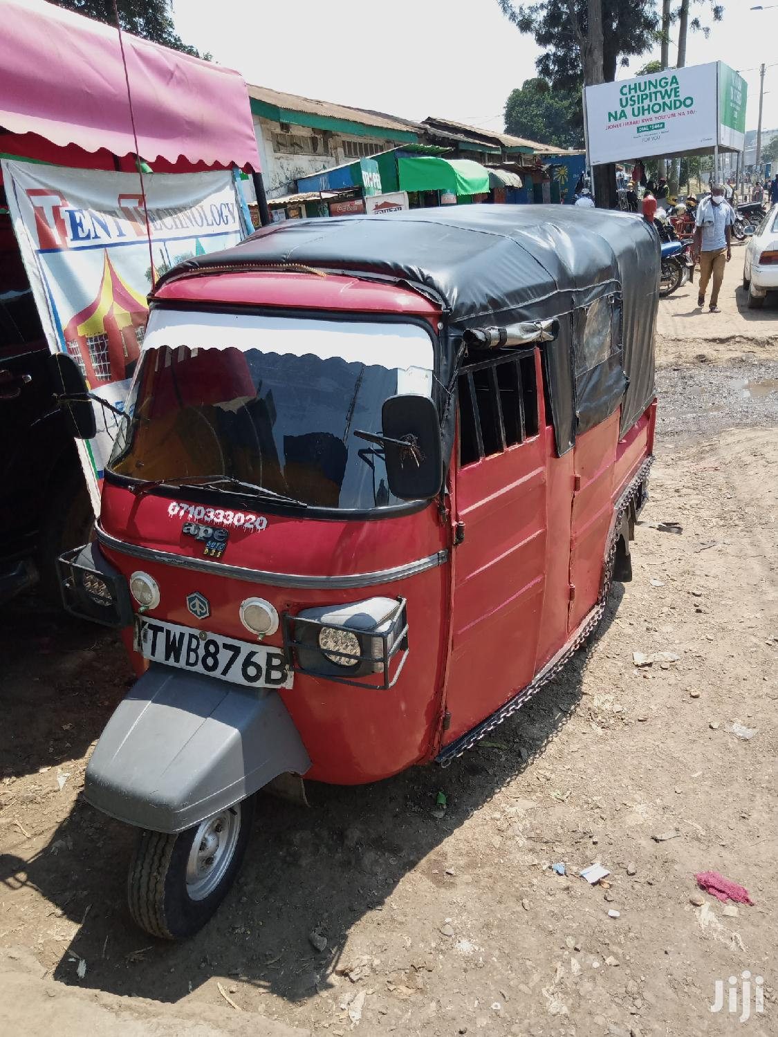 Piaggio Scooter 2017 Red | Motorcycles & Scooters for sale in Ngara, Nairobi, Kenya