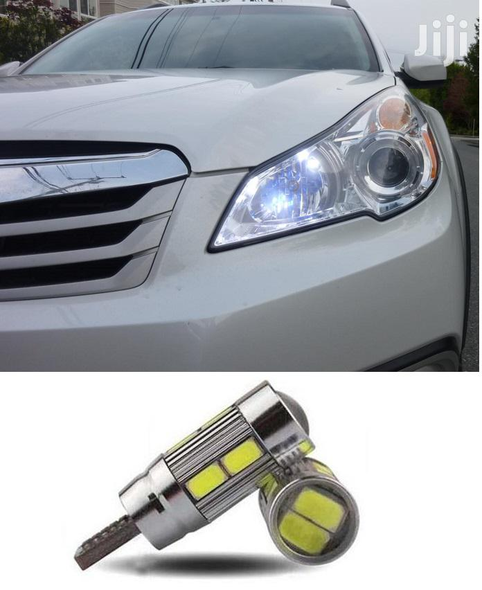 T10 Parking LED Bulb (White): For Subaru,Toyota,Landrover,Vw