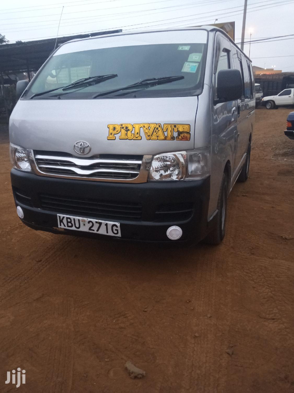 Toyota Hiace 7L 2006 Silver | Buses & Microbuses for sale in Kasarani, Nairobi, Kenya