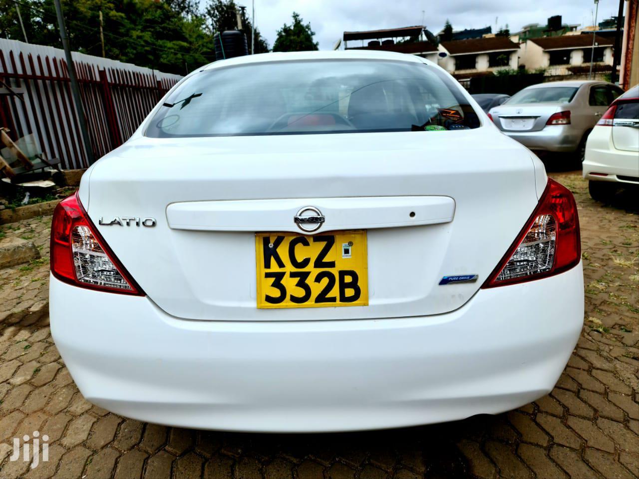 Archive: Nissan Tiida 2013 White