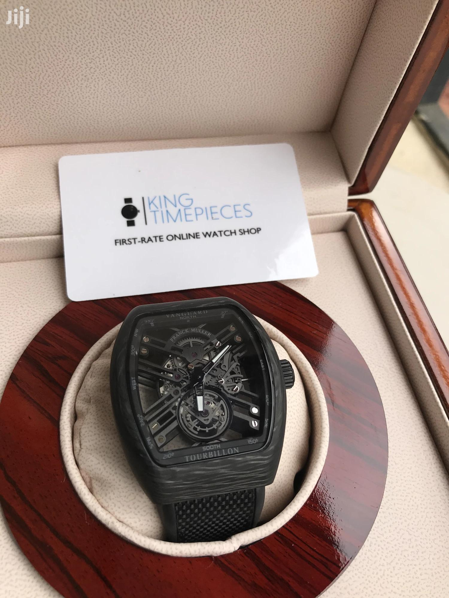 FRANK MULLER Carbon Fibre Watch Available on Preorder