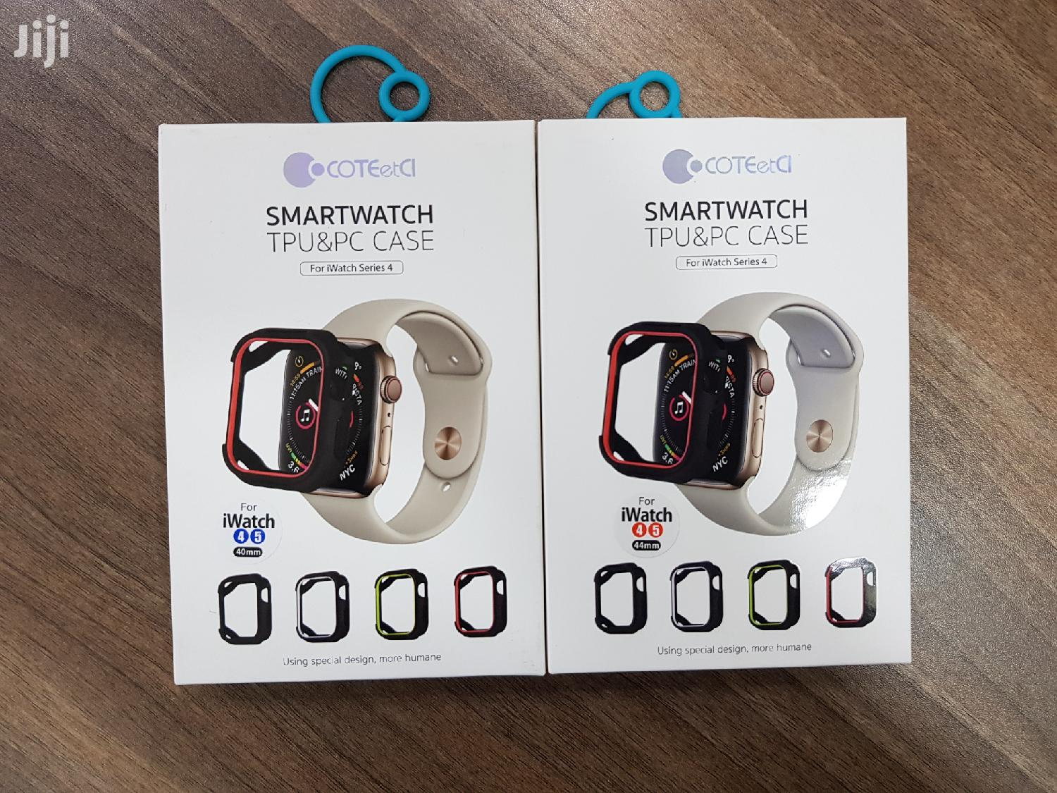 Apple Coteetci TPU and PC Integrated Iwatch Case -40/ 44mm