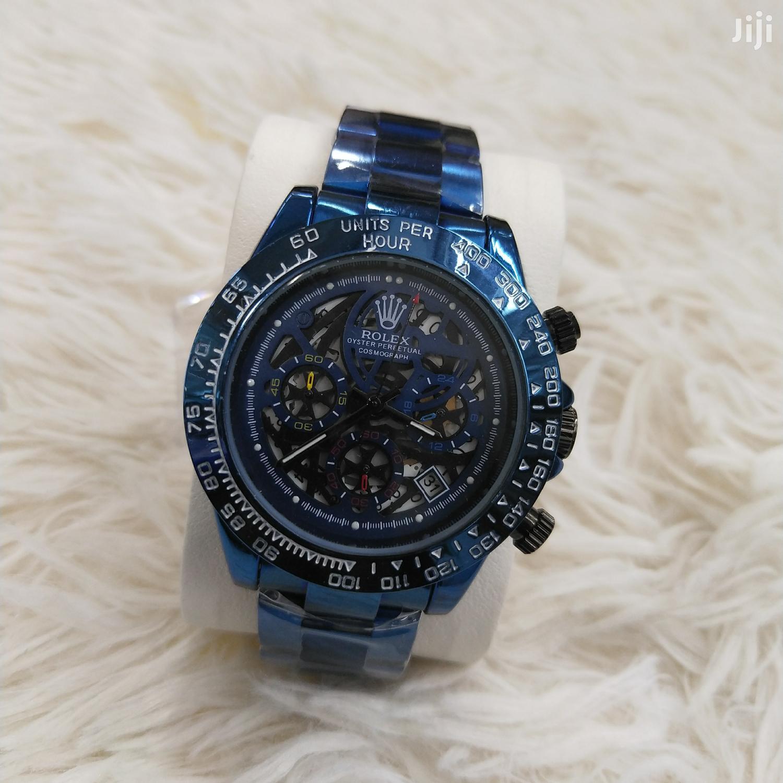 Rolex Chronograph Blue Rolex Watches