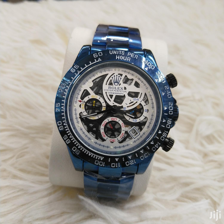 Rolex Chronograph Blue Rolex Watches | Watches for sale in Nairobi Central, Nairobi, Kenya
