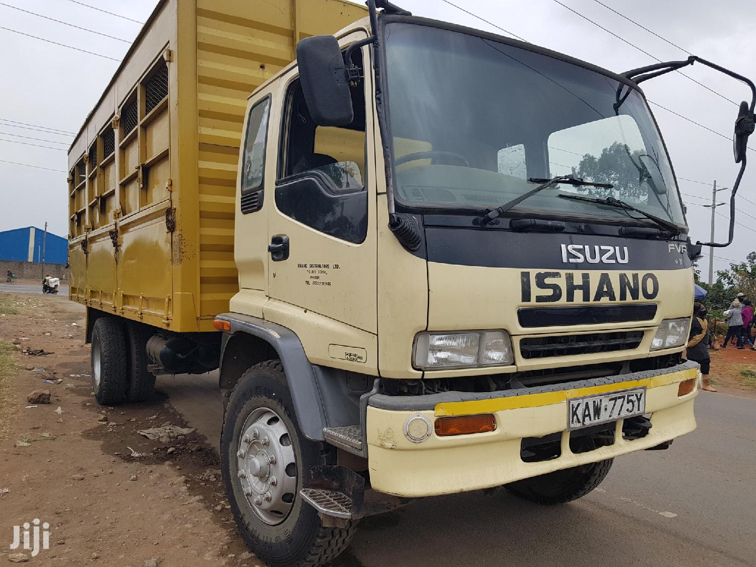 Archive: Isuzu Fvr Local 2006 Yellow For Sale