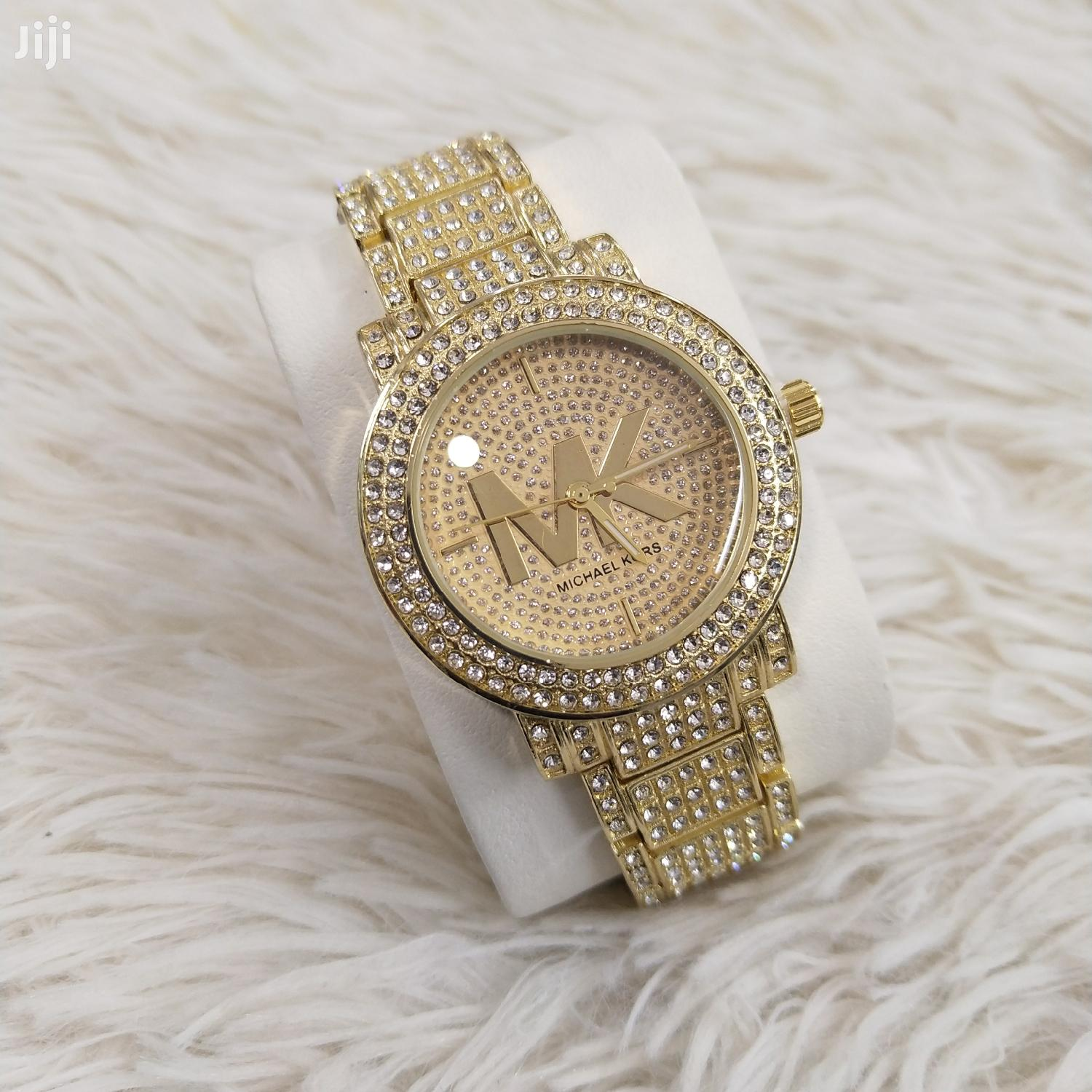 Iced Out Ladies Wrist Watch