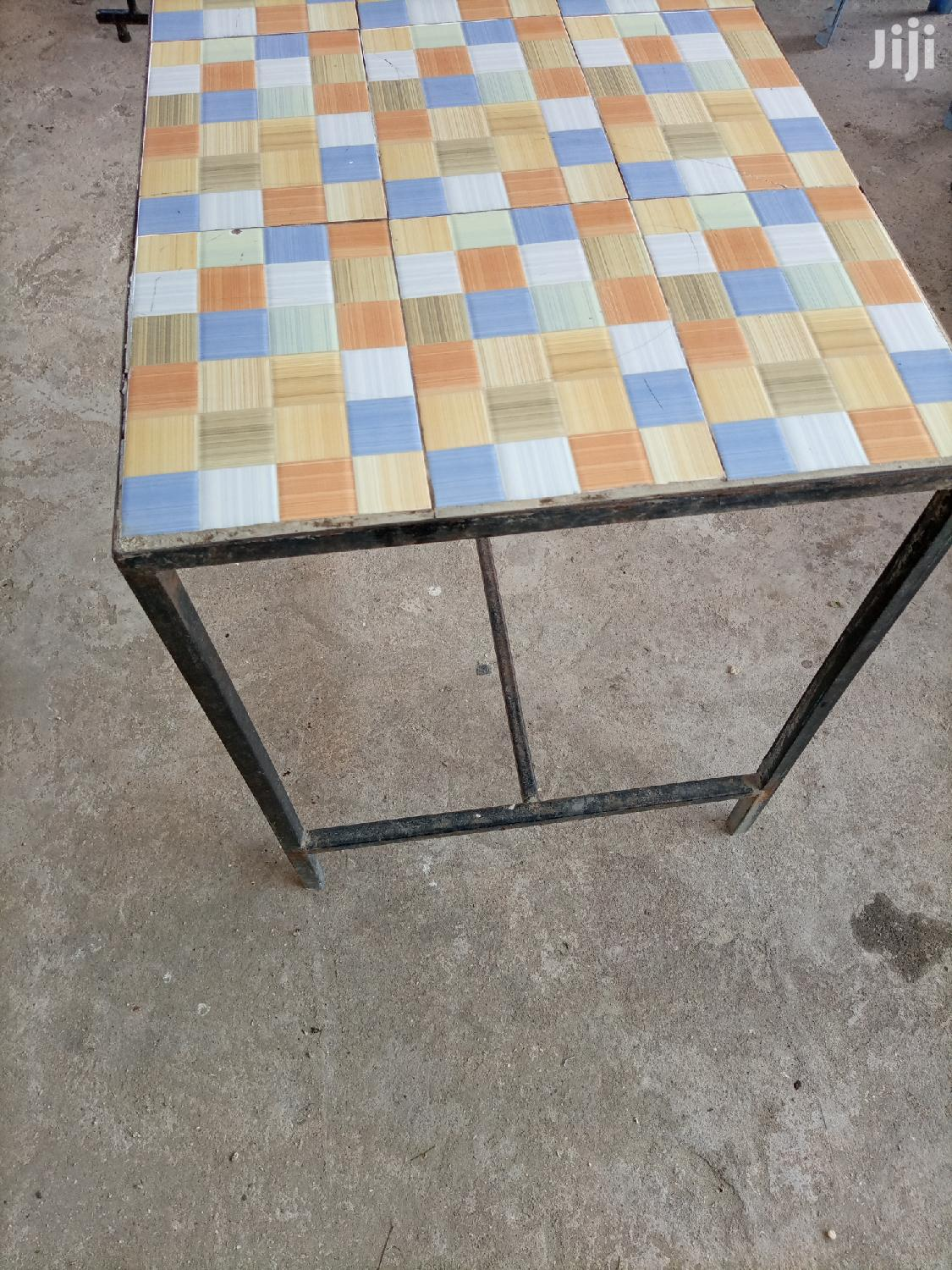 Tile Top Dining Table | Furniture for sale in Kisauni, Mombasa, Kenya