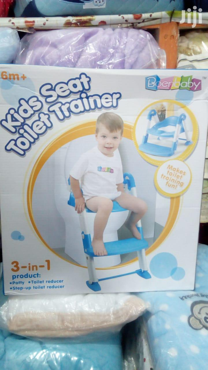 Baby Potty With Ladder - Portable Training Kids Toilet