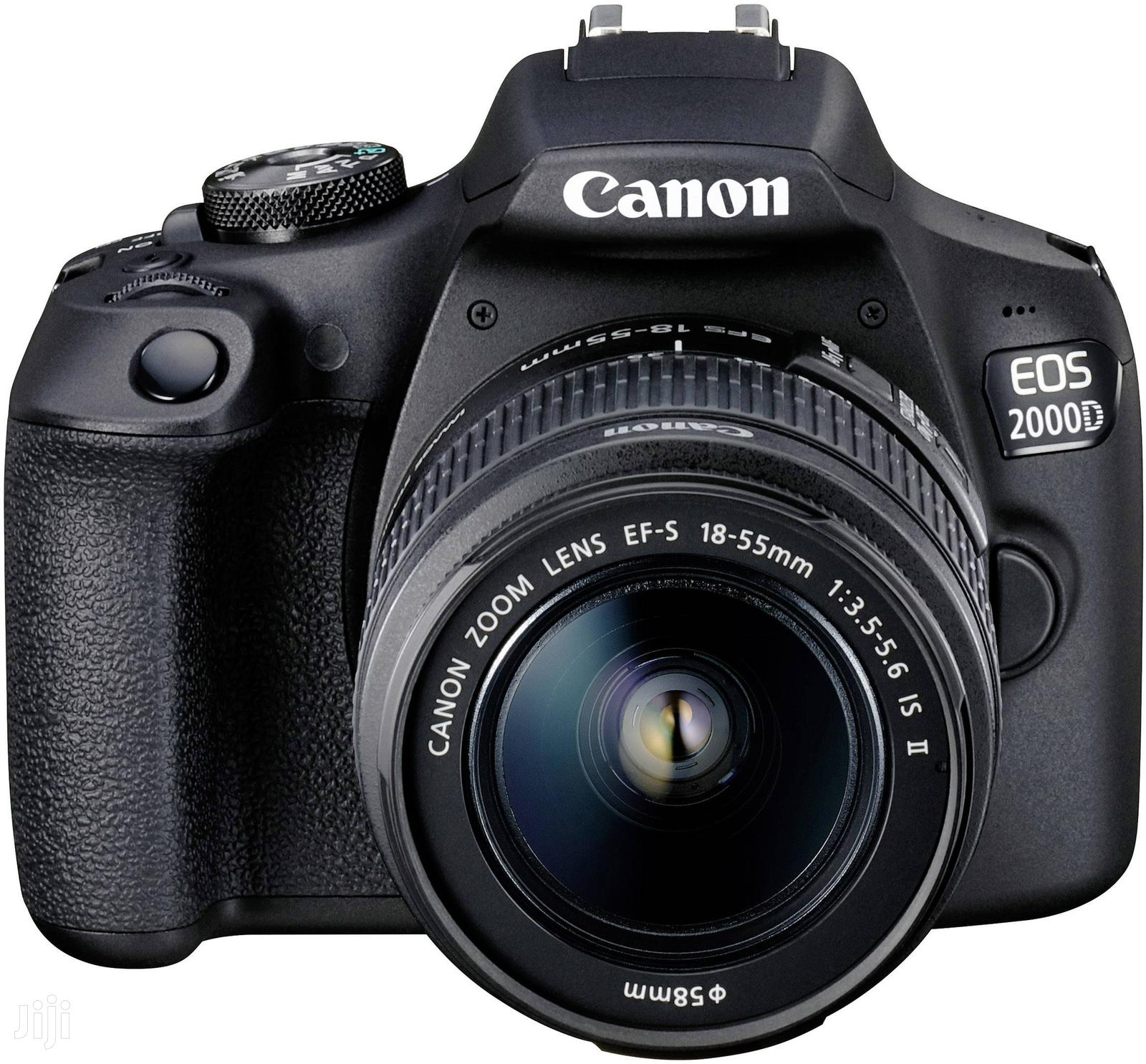 Canon EOS 2000d/Rebel T7 24.1MP Wi-Fi With 18-55 Lens IS II