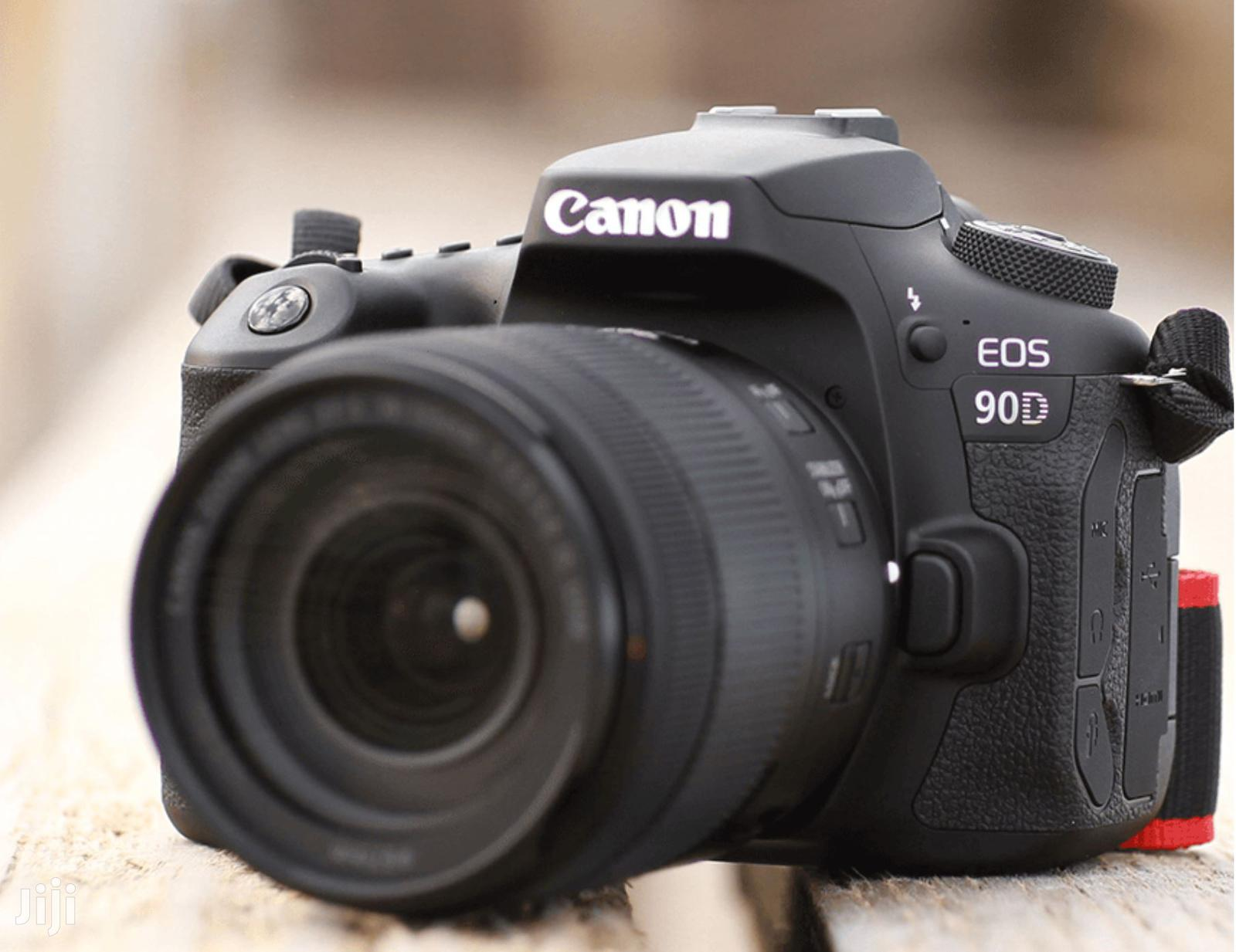 Canon EOS 90D DSLR Camera With 18-135mm Lens | Photo & Video Cameras for sale in Nairobi Central, Nairobi, Kenya