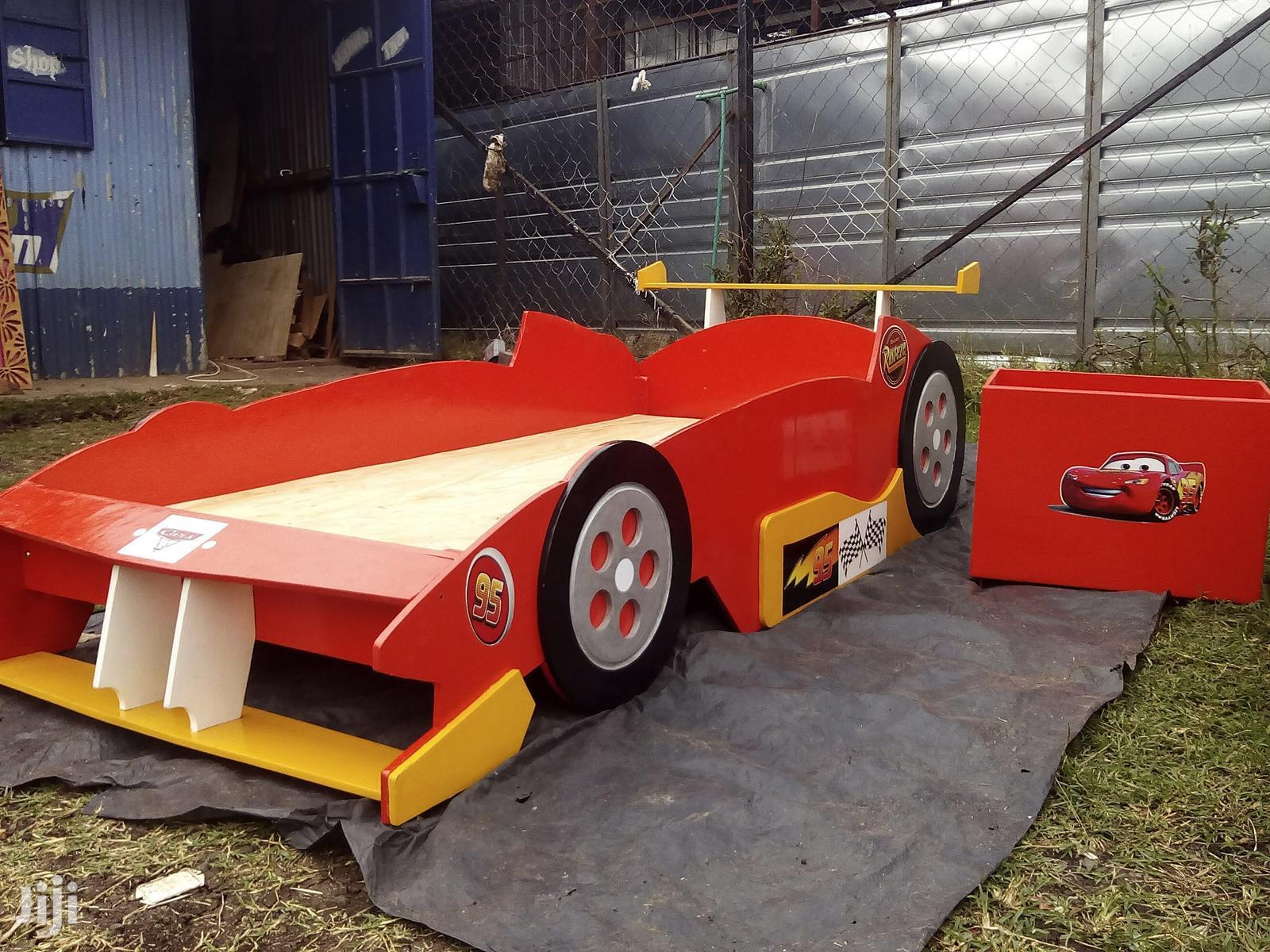Ferrari Themed Racer Bed