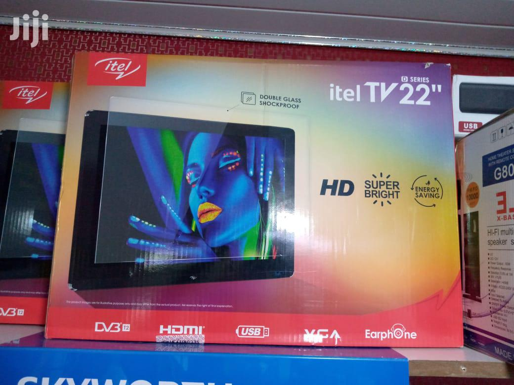 "Archive: 22"" Inch Itel TV- Genuine With Warranty+Delivery"