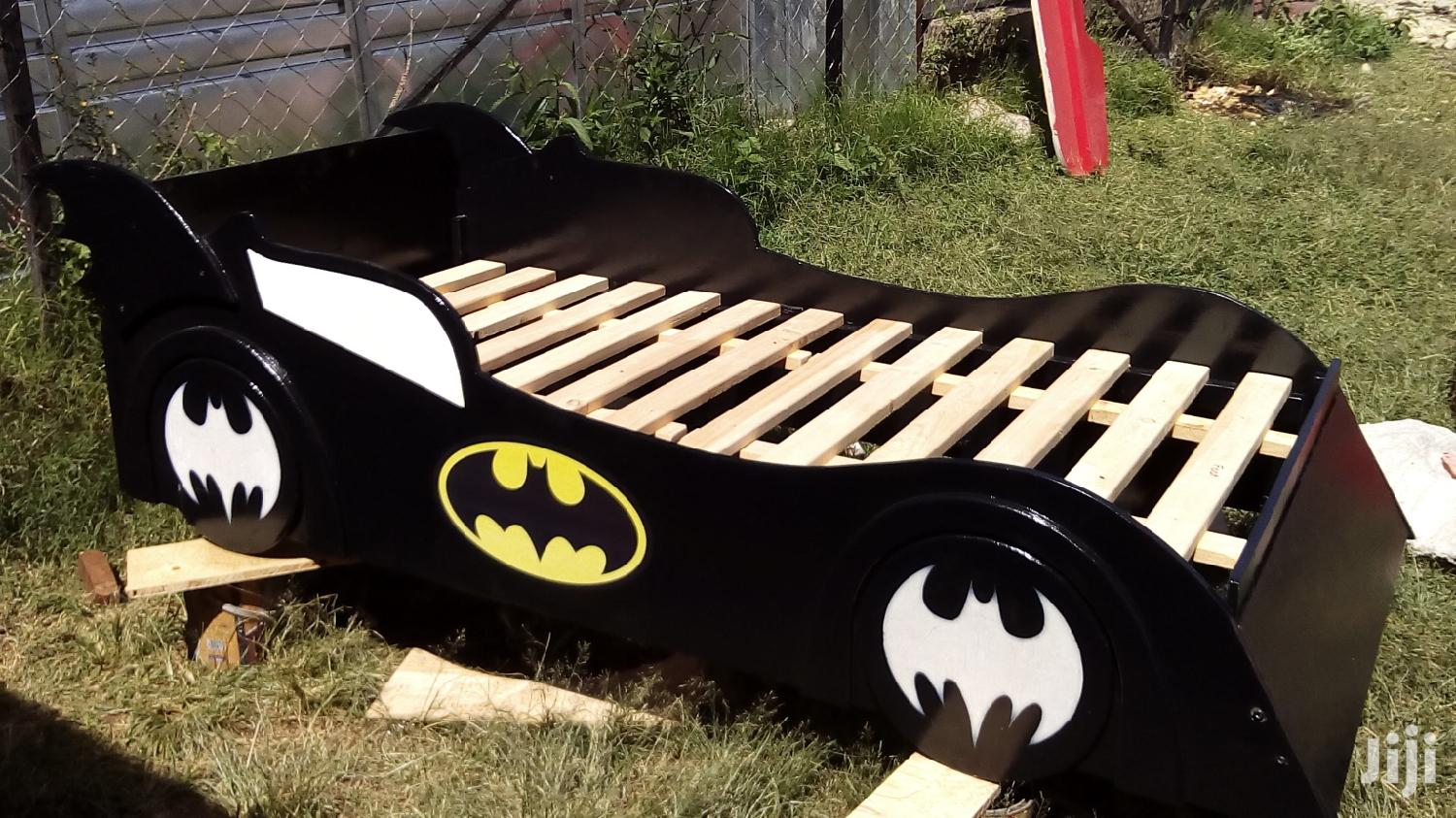 Batman Themed 3*6 Racer Bed