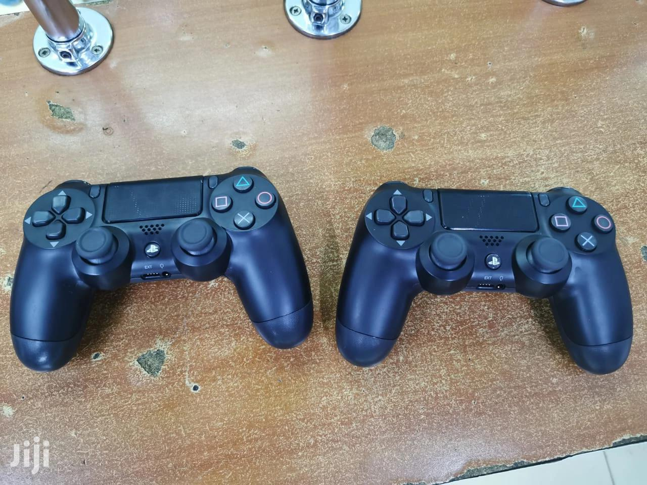 Playstation 4 Console Controls