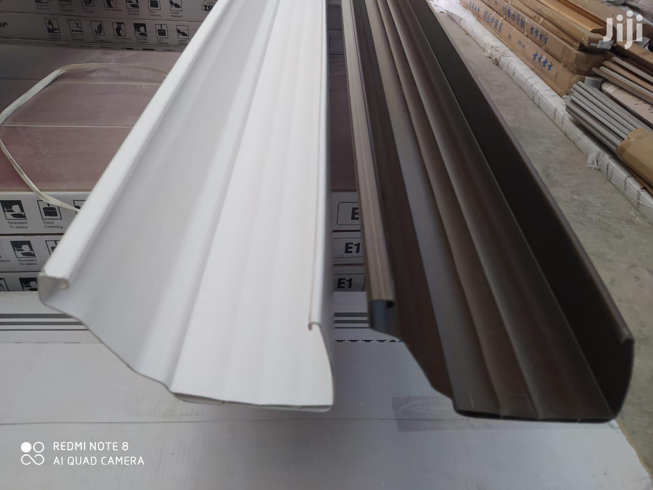 Pvc Rain Gutters In Kenya Over Ten Years Qurantee | Building Materials for sale in Karen, Nairobi, Kenya
