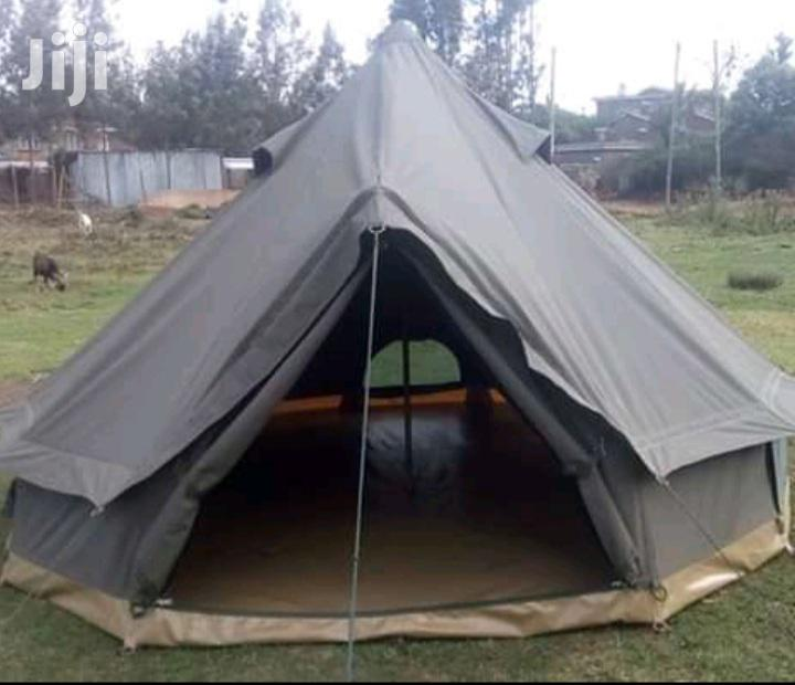 Round Canvas Camping Tents