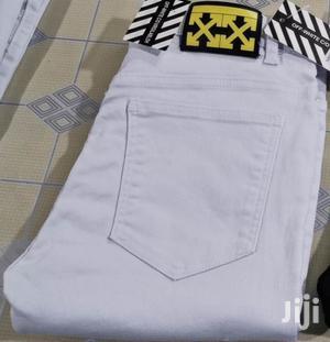 Men's Designer Jeans- Ragged/Plain White   Clothing for sale in Nairobi, Nairobi Central